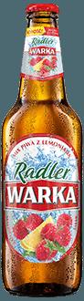 Warka Radler 2% Malina z Cytryną
