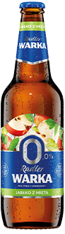 Warka Radler Jabłko z Miętą 0%