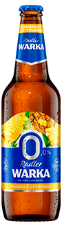 Warka Radler Ananas z Cytrusami 0%